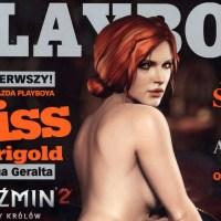 Triss Merigold от The Witcher, включена в Полският Playboy